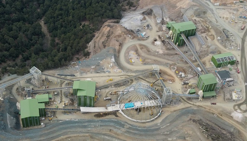 İvrindi Altın ve Gümüş Madeni Zenginleştirme Tesisleri Projesi