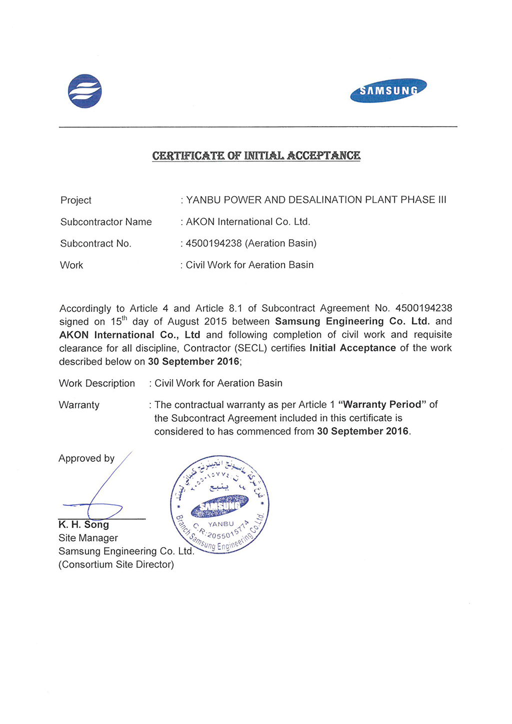 Practical completion certificate profromaas v4 agenda word practical completion certificate profromaas v4 promissory note 7 job completion certificate ypr016 2 practical completion certificate xflitez Image collections