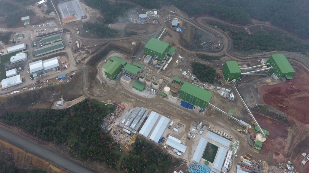 Lapseki Gold and Silver Mine Beneficiation Plant Project