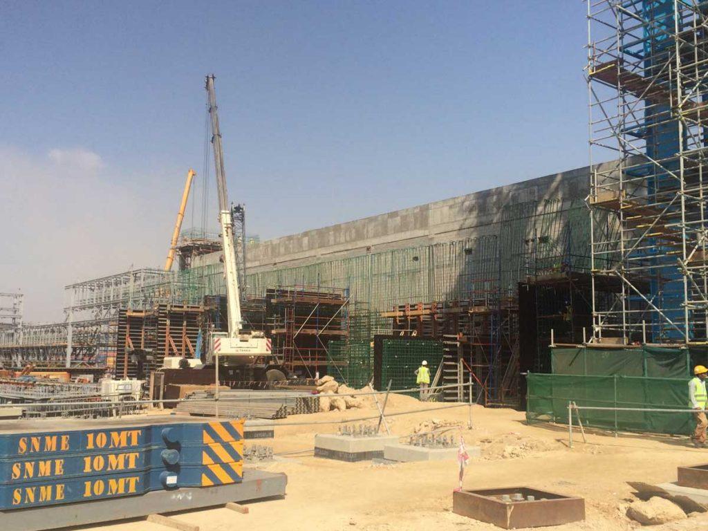 Yanbu Power and Desalination Plant Pipe Rack  